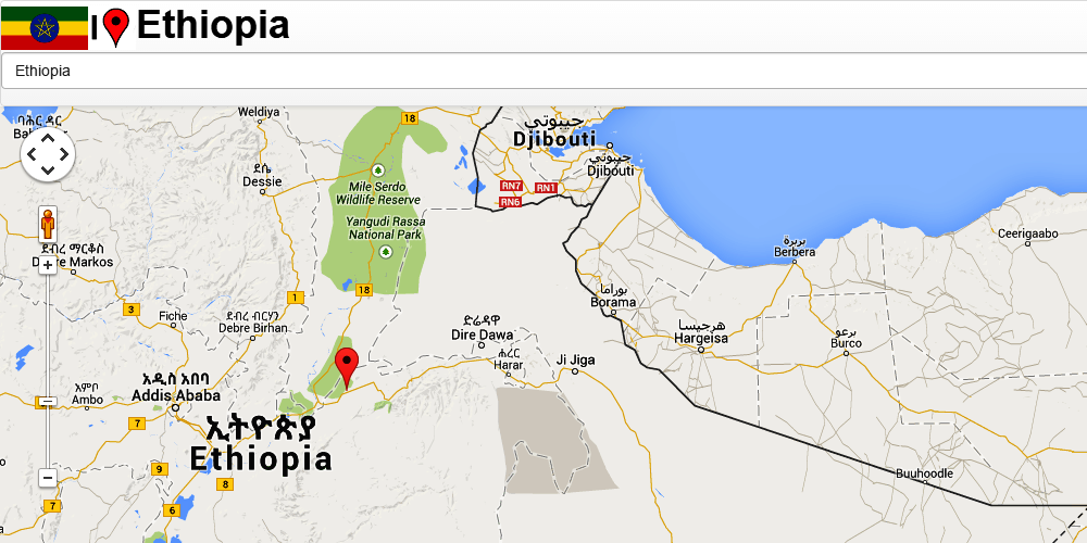 Ethiopia Addis Ababa Map Android Apps On Google Play - Map of ethiopia