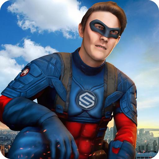 Spider Hero Wings : City Terror Strike