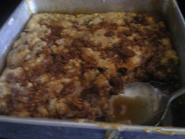 Place back into oven and bake 35 to 45 minutes until cobbler batter is...