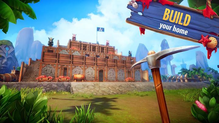 Survival Island: EVO – Survivor building home Android App Screenshot