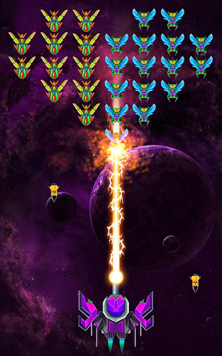 Télécharger Galaxy Attack : Alien Shooter (Premium) APK MOD (Astuce) screenshots 5