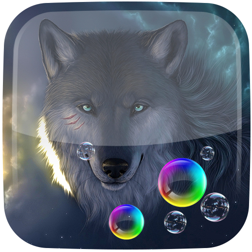 Wolf Animated Live Wallpaper