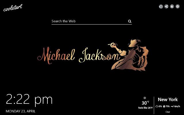 Michael Jackson HD Wallpapers New Tab Theme