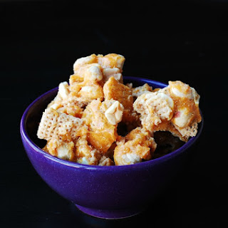 Peanut Brittle Chex Mix