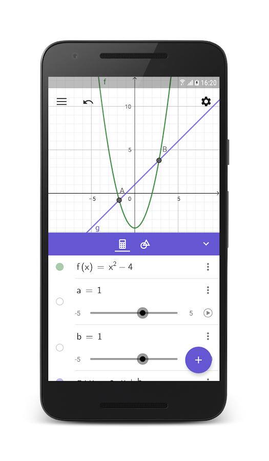 GeoGebra Graphing Calculator- screenshot
