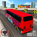 Real Coach Offroad School Bus Driving Simulator icon