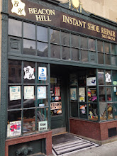 Photo: Beacon Hill Instant Shoe Repair in Boston, MA proudly displaying their BBB Accreditation