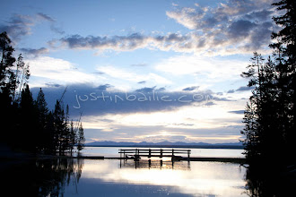 Photo: Yellowstone Lake in Yellowstone National Park, WY.