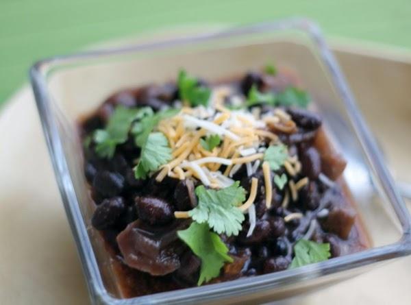 Crock Pot Black Beans Recipe