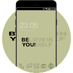 Quote of the Day Theme: Believe in YOU Wallpaper Icon