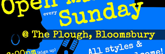 UK Open Mic @ The Plough in Holborn / Bloomsbury / Russell Square on 2019-10-20