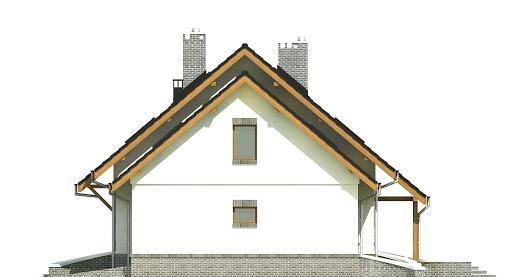Dom Dla Ciebie 2 w2 z garażem 1-st. A - Elewacja prawa