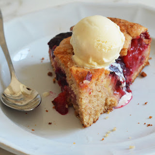 Late Summer Plum Cake.