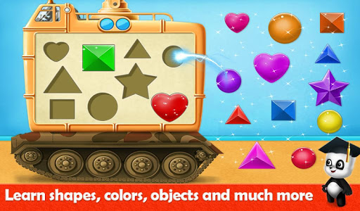 Panda Smart Sorting Adventures: Shapes & Colors 1.0 screenshots 5