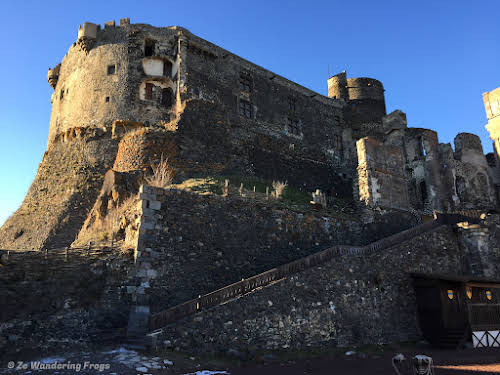 Top Auvergne Destinations: Things to Do in Clermont-Ferrand // Murol Castle