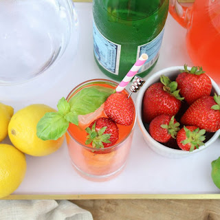 Strawberry Lemon Lime Vodka Fizzy