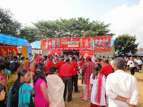 Photo: The celebrations continued at the wedding receptionat Phulbani.