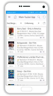 Main-Tauber-App - náhled