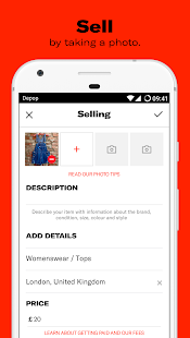 Depop - Buy, Sell, Discover and Share- screenshot thumbnail