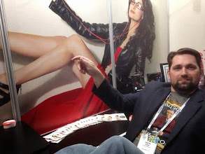 Photo: Gavin blending in at the Geek by LH Labs CES Booth 6821