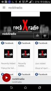 rockXradio- screenshot thumbnail