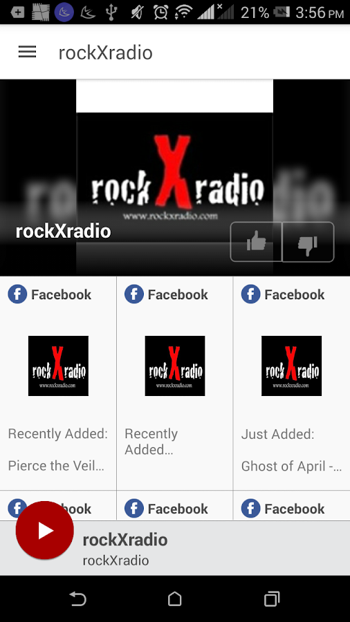 rockXradio- screenshot