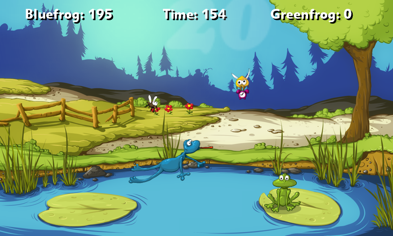 A Frog Game Free- screenshot