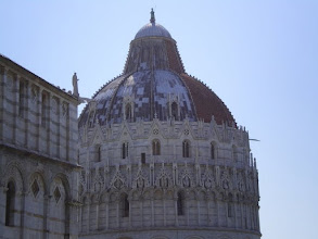 Photo: Romanesque style below with Gothic above