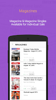 Screenshot of Daily News, eBooks & Magazines