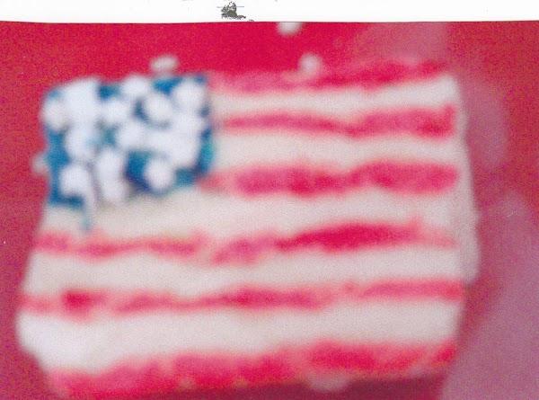 Grace's 4th Of July Flag Fudge Recipe