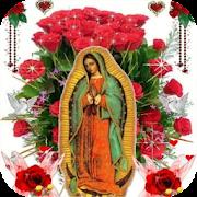 Virgin Of Guadalupe Roses Live Wallpaper