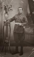 Photo: Militar. Proveedor: Begoña González. Año: 1923.