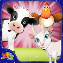 Kids Cattle Farming Simulator icon