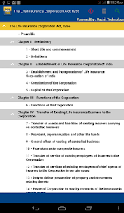 India - The Life Insurance Corporation Act 1956 - náhled