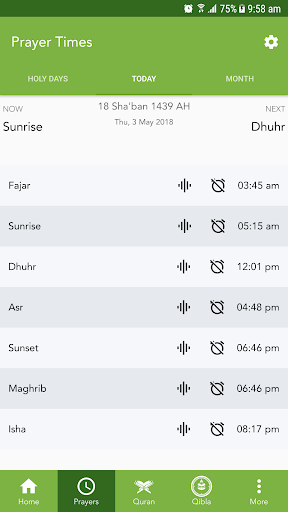 Ojeebu - Prayer Times, Quran, Qibla, Ummah Ramadan screenshot 2