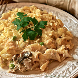 Tuna Noodle Casserole With Potato Chips Recipes.
