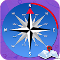 GPS Compass-Driving Direction & Best Maps icon