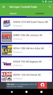 Michigan Football Radio - náhled