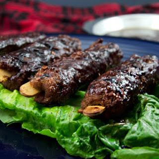 Smoked Seitan Barbecue Ribs