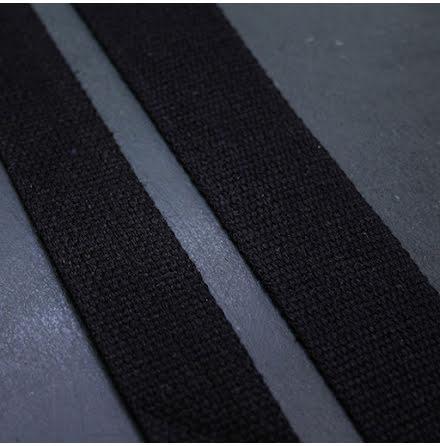 Väskband 40mm- svart