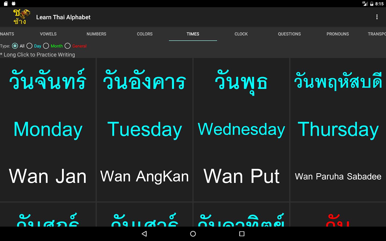 Learn the Five Thai Tones | TiGeR Thai