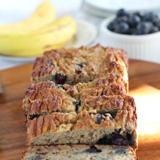 Banana Blueberry Breakfast Bread {Paleo & Nut Free}.