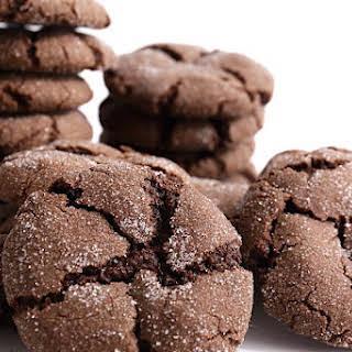 Orange Chocolate Brownie Cookies.