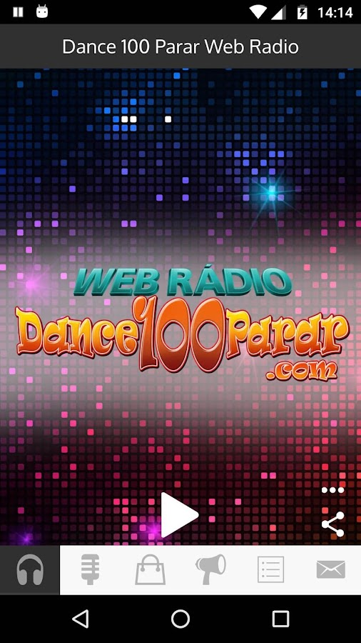 Dance Sem Parar Web Rádio- screenshot