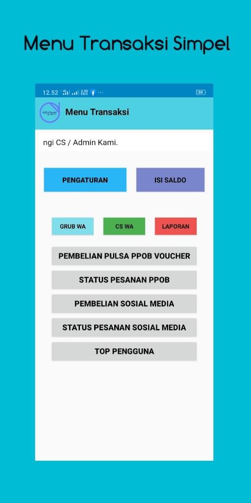 Alfin Panel Distributor Pulsa H2h Smm Termurah 4 0 Apk Download Com Alfinpanep Co Apk Free