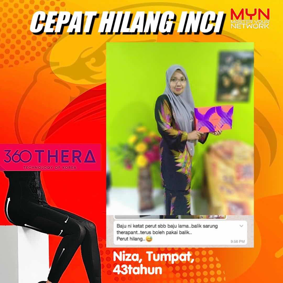 testimoni Therapants Premium beautiful haio 2019 2020