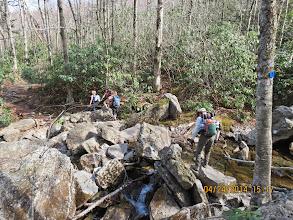 Photo: Stream Crossing Upper Boone Fork Creek