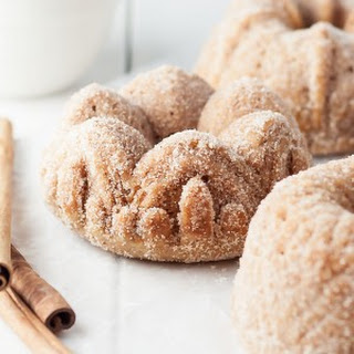 Cinnamon Toast Bundts - #BundtBakers