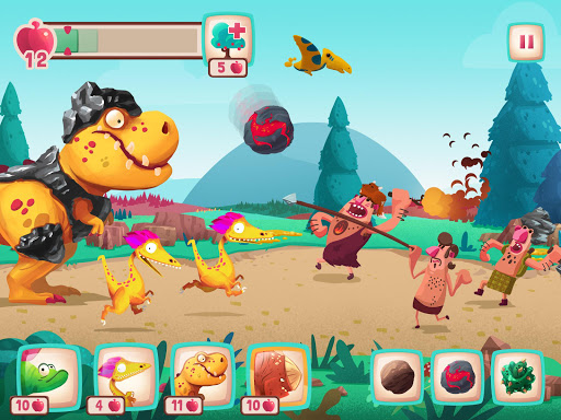 Dino Bash Mod Full Money (Tiền) Cho Android