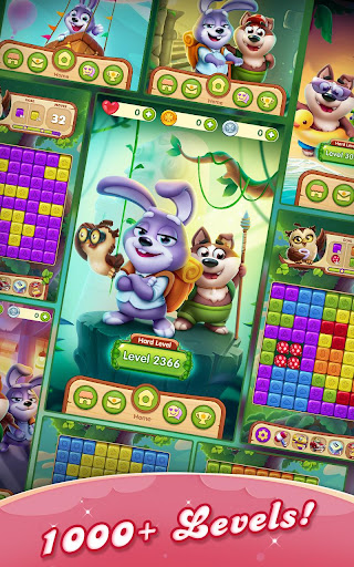 Puppy Blastu2122ufe0f - pets puzzle adventure 1.0.37.340 screenshots 7